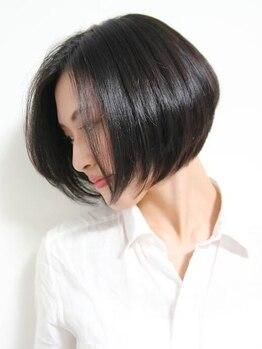 ビームズ 御器所店(Bee-ms)の写真/気になる白髪もオーガニックカラー剤でツヤ髪に☆明るめのグレーカラーでより若々しくをお助けします☆