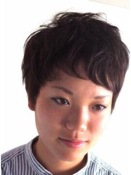 ヘアーカーブ(haircarve)haircarve夏サキドリ☆クールチョコブラ・ショート
