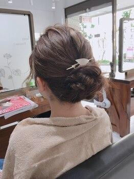 ヘアアンドメイク アネラ(Hair&make Anela)の写真/《上永谷駅徒歩2分◇駅チカ好立地》編み込み・和髪・華やかなヘアからカジュアルヘアまでお任せください☆