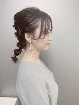 ピエドプールポッシュ(PiED DE POULE POCHE)* arrange hair * × タマネギヘア