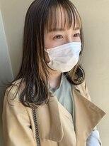 ヘアー アイス ルーチェ(HAIR ICI LUCE)担当西田 フェイスフレーミング ハイライト 透明感カラー