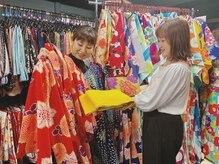 夢京都 祇園店の雰囲気(たくさんの種類のお着物から選べます♪【着付け】【ヘアセット】)