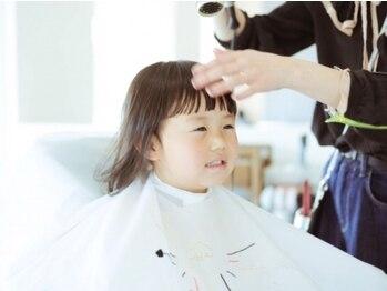 チャンティーヘア 板橋店(Cantii hair)の写真/【キッズスペースあり!】子育て中でも扱いやすいスタイルやママの疲れを癒すクリームバスが好評◎