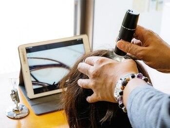 ヘアーヒーリングサロン アズ ラグジュアリー(hair healing salon az luxury)の写真/北九州で数店の【毛髪診断士】【LSドクター】資格所有者のサロン【azluxury】でどんな髪も美髪に導きます