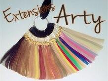 アーティ 松山店(Arty)の雰囲気(カラーの品揃えに自信あり!どんなカラーにも合わせます♪)