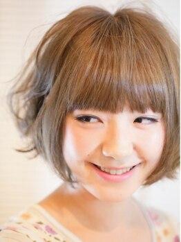 バズヘアー(BUZZ HAIR)の写真/【平日学生さん限定♪】カット+縮毛矯正★長さ不問¥9900!乾かすだけのサラサラ髪…お財布にも優しい♪