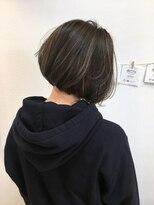 ヘアーデザイン アコースティック(Hair Design ACOUSTIC)ボブハイライト