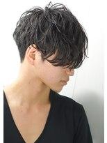 デジタルパーマ流行 モテ髪 刈り上げ マッシュニュアンスパーマ