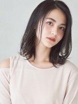 ミンクス 銀座店(MINX)【菅野一押し】髪質改善パーマで魅せるトレンド外ハネミディ