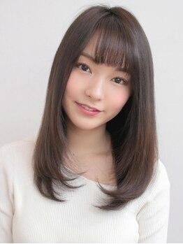 アグ ヘアー ビヨンド 戸塚店(Agu hair beyond)の写真/想像以上に柔らかな曲線美に。クセを伸ばす×360度綺麗なシルエット両立!朝のStylingも簡単!
