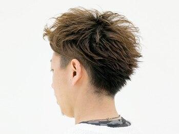 ヘア フラッグ 西葛西店(hair flag)の写真/【当日予約OK】駅近だから仕事終わりに通いやすい◎ビジネスシーンに合わせ再現性抜群のスタイルを提案!