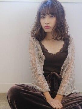 haif】鎖骨ミディアム【伊藤杏奈】:L007415205|ハイフ(haif)のヘア ...