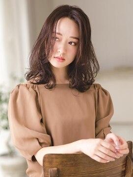 アグ ヘアー シルエ 和泉府中店(Agu hair silje)ラベンダーとパープルで華やかラベージュ