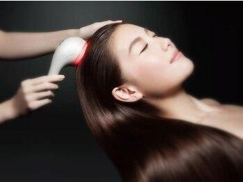 サンズ リアンジェ(SUNS liange)の写真/【宇品テラス2F】取り扱い希少な資生堂髪育スパも受けられます。本気のケアをしたい方に