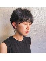 アレッタ ヘア オブジェ(ALETTA HAIR objet)女子のショートマッシュ[沖野紘大]
