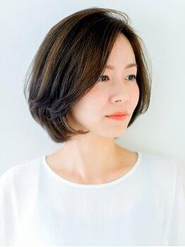 """エーディーイー スガタ ヨーカドー静岡店(A.D.E sugata)の写真/40代からの大人女性の髪のお悩みを""""カット""""で解消!こだわりの技術で扱いやすいスタイルを叶えてくれる◎"""