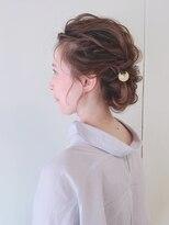 ピエドプールポッシュ(PiED DE POULE POCHE)* 和装 arrange hair * × かんざし