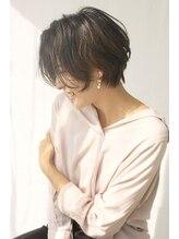 ヘアーサロン 美髪20代 30代 40代◎ ナチュラルフェミニンなショートボブ