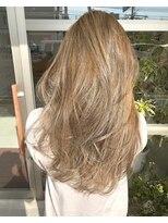 サロンズヘアー 中納言店(SALONS HAIR)外国人風カラー