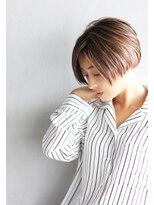 エヌ(N / 92co.)N/92co. シアライト×ショートヘア