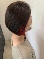 ガーデン ヘアーアンドボタニカル(Garden hair&botanical)インナーカラー/ボブ/ショートボブ