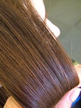 ヘアサロン フライハイ(Hair Salon Fly High)の写真/ツヤストレート縮毛矯正+カット10450円☆潤いたっぷりのまとまるツヤストレートはFly Highでキマリ!