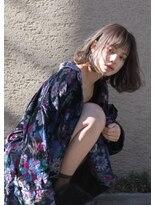 マウロア(MAULOA)【MAULOA】似合わせカット+空気感たっぷりミニマムボブ