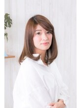 ヘアーサロン アージェ(Hair Salon Ange)大人女子のピュアストレート