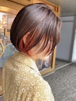 モリオ 原宿本店(morio from London)【morio原宿】大人かわいいインナーカラーボブスタイル