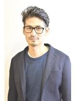 ステップ(STEP)【STEP YOSHI】ビジネス オールバック パーマスタイル