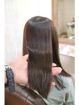 シャンティの写真/*shanti Premium Treatment ~感動の手触りを~ 極上の手触り×髪質をshantiで体感してください。