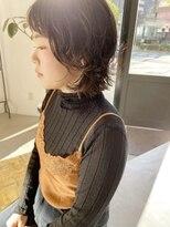 ヘアーアイスカルテット(HAIR ICI QUARTET)ウルフ × パーマ × ミディアム
