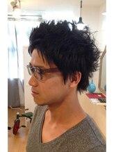 ヘアーリトルバニー(Hair Little Bunny)黒髪メンズショート!
