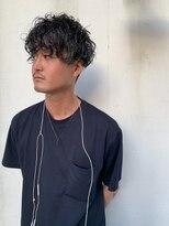 ヘアー アイス カンナ(HAIR ICI Canna)グランジパーマ スパイラルパーマ 2ブロック メンズパーマ