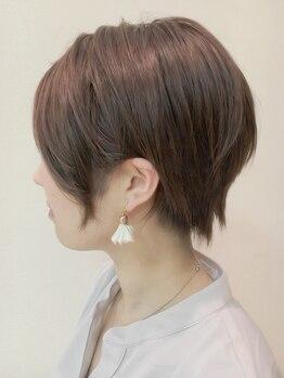 クール ヘアー ギャラリー 神明町店(COOL Hair gallery)の写真/ガラッと雰囲気を変えるならショートで決まり♪バランスを見極めたカット技で憧れの美シルエットが叶う☆