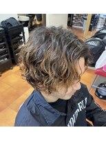 ブラッシュヘアードレッシング(BRASH Hair Dressing)スパイラルセンターパート