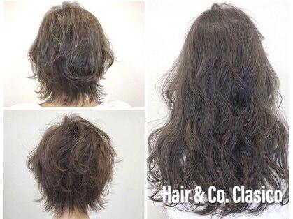 ヘアーアンドコークラシコ(Hair&Co. Clasico)の写真
