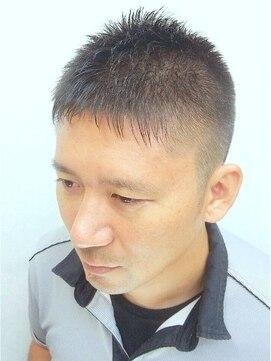 ヘアーサロン キンザマツナガ 築地店(Hair Salon GINZA MATUNAGA)脱ふつう!ニューベリーショート<理容室>【銀座 築地 メンズ】
