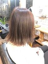 ジェンテ ヘアサプライ(GENTE hair&supply)韓国風パッツリ外ハネボブ