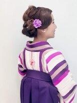 フラココトリコ(hurakoko trico)[hurakokotrico]和泉美佳 卒業式 レトロ お洒落な袴スタイル