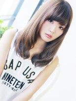 【ヘアジュレドゥ 松田】 大人女性で無造作な美髪セミディ☆