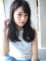 透明×清楚☆ダークトーンヘア