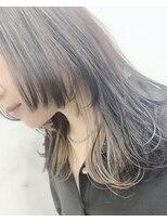 【Anli】ウルフカット×インナーカラー