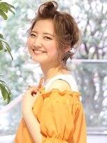 ■ラブグラマラスヘアアレンジ☆ポンパドールM.SLASH自由が丘21