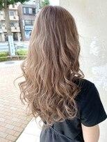 エイミーバイアフロート(amie by afloat)外国人風☆ウェービーblond hair