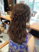 ファミーユ(famille)famille・結婚式二次会着物浴衣におすすめ夏のヘアアレンジ