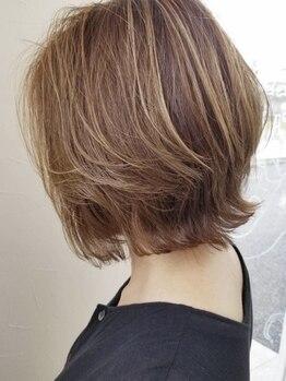 タブーセントラル(TABOO Central)の写真/【絶対に似合うショート教えます☆】あなたの髪質、骨格に合わせて導き出す究極の似合わせカット♪