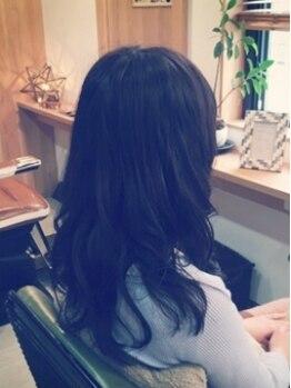 ヒトノワ ヘアアンドシェービングエステ(hitonowa)の写真/北本◆髪に優しい薬剤にこだわる方にオススメのサロン♪ダメージレスに優しく理想のスタイルを叶えます!