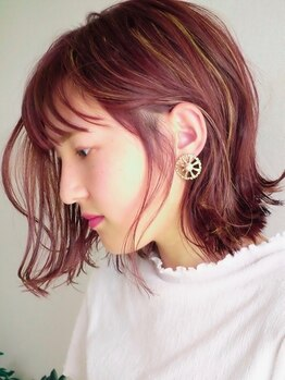 ネイビー グラ ヘアー ストーリー(NAVY gra HAIR STORY)の写真/ダブルスターのカラーリスト在籍☆お客様の髪質/要望に合わせた施術で、憧れの最旬styleをつくります♪