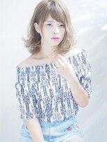 リリースセンバ(release SEMBA)releaseSEMBA『耳かけうっとり髪♪シースルーニュアンス☆』